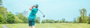 man golfing in charlotte nc