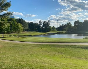 10th hole at ballantyne in charlotte nc
