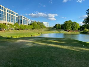 12th hole at ballantyne in charlotte nc