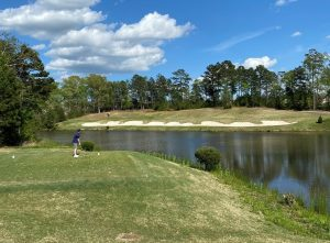 par 3 at Carolina Lakes Golf Club in Indian Land, SC