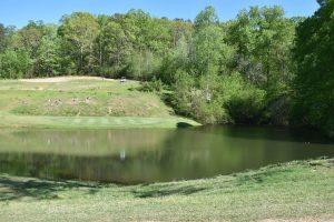hole #5 par 3 at Crowders Mountain Golf Course