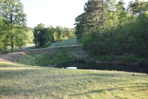 """hole #14 par 5 """"Young's Revenge"""" at Crowders Mountain Golf Course"""