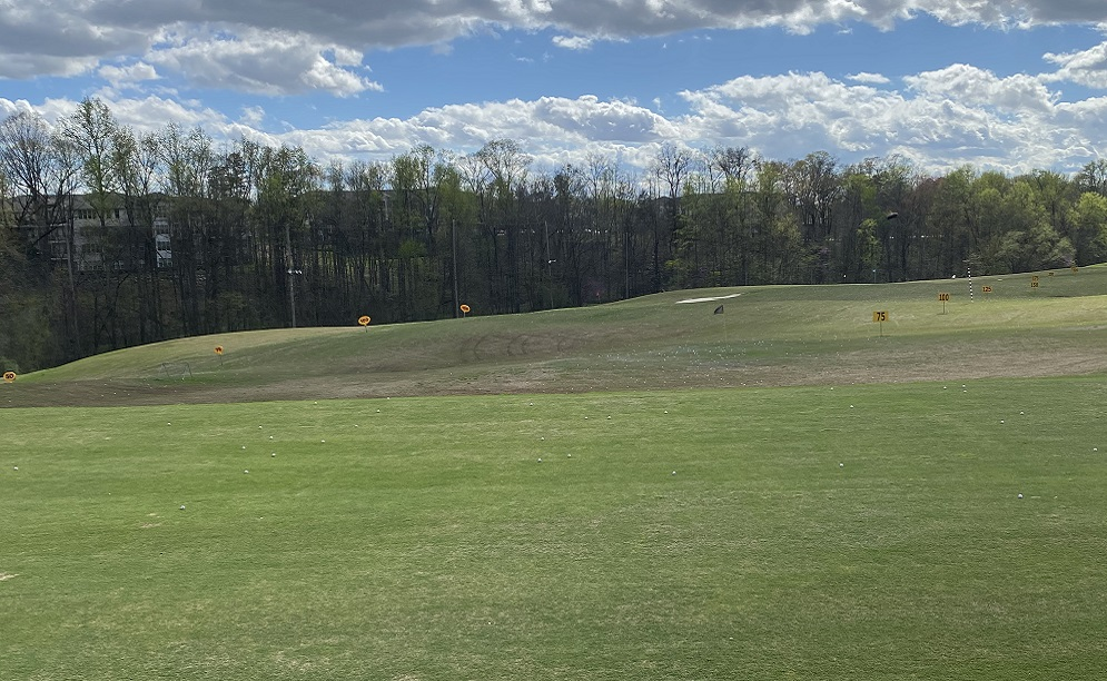driving range at Leathermans in Charlotte, NC