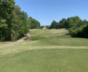 Rocky River hole #18 in Concord, NC