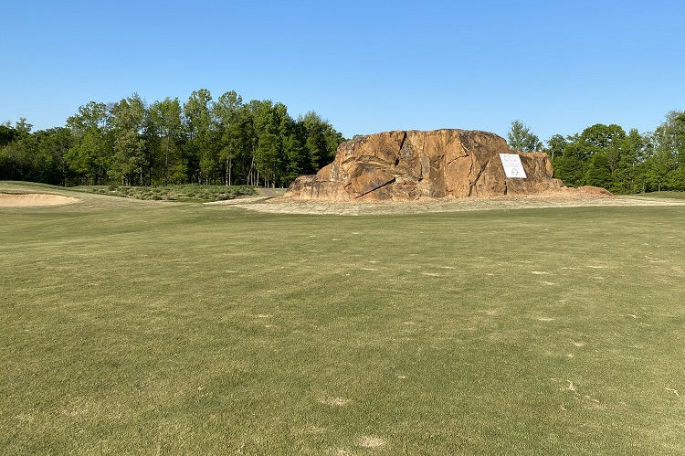 Rocky River Golf Course rock in Concord, NC