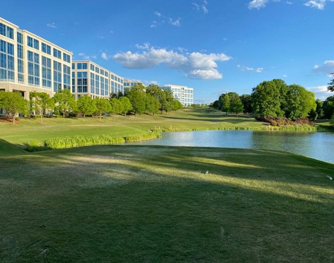 Golf Club at Ballantyne 12th hole in Ballantyne, NC