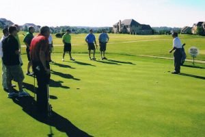 group golf lesson in Charlotte, NC
