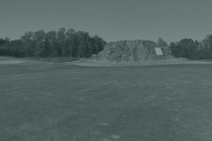 Rocky River Golf Club with green overlay