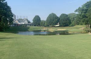 Birkdale Golf Club 18th hole in Huntersville, NC