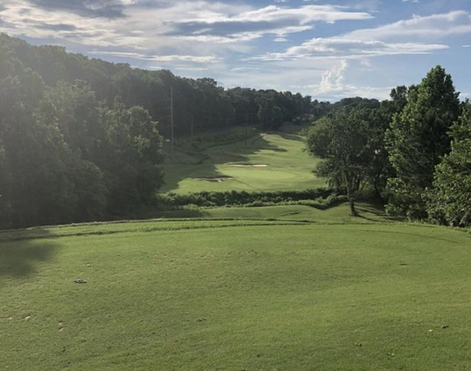 Larkin Golf Club tee box view