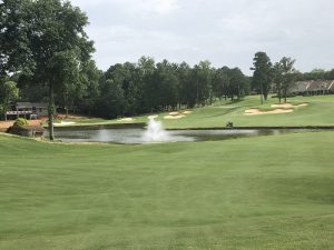 hole 10 at Rock Barn Country Club Jackson Course in Conover, NC