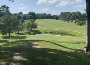 Lincoln Country Club fairway in Lincolnton, NC