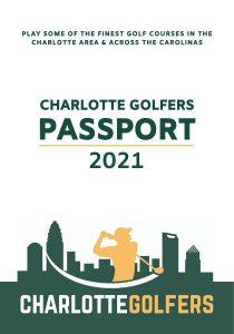 2021 Charlotte Golfers Passport cover