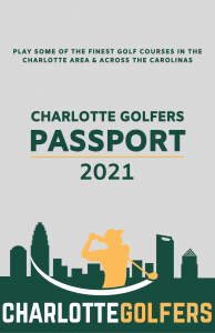 Charlotte Golfers Passport cover