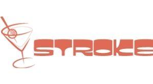 Stroke mini golf bar in Charlotte, NC logo